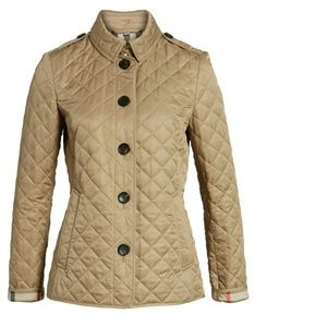 Burberry Ashurst Quilted Jacket  Size S